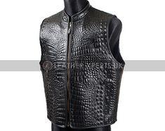 Biker Leather, Faux Leather Pants, Faux Leather Jackets, Motorcycle Vest, Biker Pants, Leather Suspenders, Crocodile Skin, Natural Leather, Black Denim