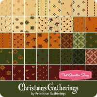 Christmas Gatherings by Primitive Gatherings for Moda Fabrics - May 2016