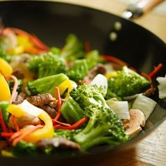 This page contains stir fry vegetable recipes. Stir fried vegetables are great when cooked to perfection, seasoned correctly, and served over rice.