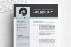 Ad: Word Resume with Cover Letter by ResumeInventor on Welcome to the Resume Inventor ! ★★★★★ --- We make every piece of our resume design, such as text, color, photos, design spaces and other Resume Cv, Resume Design, Cv Design, Report Design, Free Resume, Modern Resume Template, Creative Resume Templates, Cover Letter Template, Letter Templates