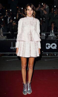 Alexa Chung in Valentino Couture - At the GQ Men of The Year Awards.   (September 2010)