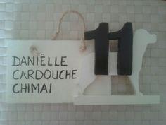 Naambordje voor Danielle en...