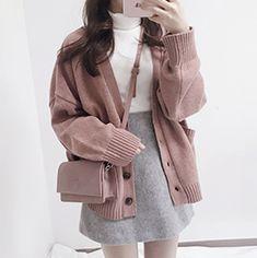 Teen Fashion Outfits, Retro Outfits, Cute Casual Outfits, Cute Fashion, Stylish Outfits, 90s Fashion, Korean Girl Fashion, Korean Fashion Trends, Korean Street Fashion