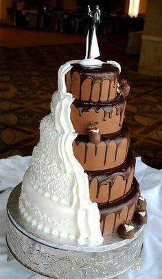 Mmm perfect weading cake!!