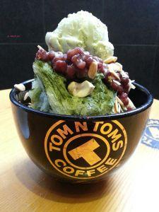 Tom N Toms Coffee - Matcha Pat Bingsu