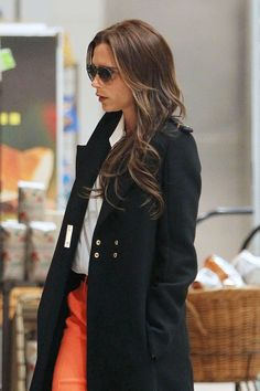 10b81aec907d Victoria Beckham - Victoria Beckham Arrives in NYC Fashion Drug
