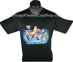 3142 Santa's New Ride ChicagoFireAndCopShop.com Chicago Fire Department and Chicago Police Department gifts.