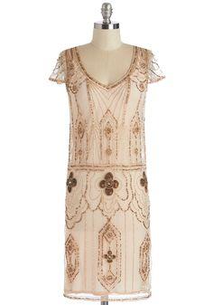 1920s Fashion - Rococo Radiance Dress