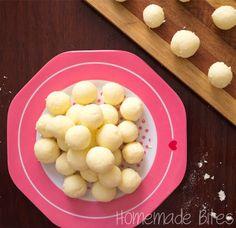 Homemade Bites: Dry Milk Bites