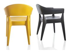 Polyethylene chair JO - ALMA DESIGN
