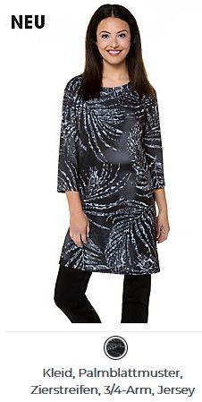 Erhältlich im online shop von gina-laura.com mit 8% Cashback für KGS Partner Im Online, Tunic Tops, Shopping, Women, Fashion, New Dress, Stripes, Patterns, Curve Dresses