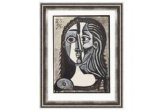 Pablo Picasso, Tête de Femme on OneKingsLane.com