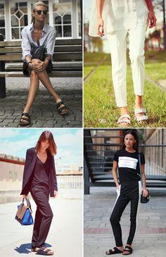 Summer Shoes | Collage Vintage