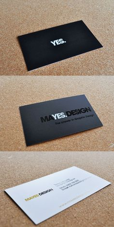 Black Business Card ideas. Love the textured approach.