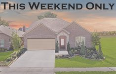 THIS WEEKEND ONLY: Lennar Mortgage is offering below market rates on quick move in homes purchased this weekend that close in February! Visit us or call 866.314.4477 for more details!