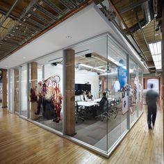 AOL Office by Cassie Zhen, via Behance