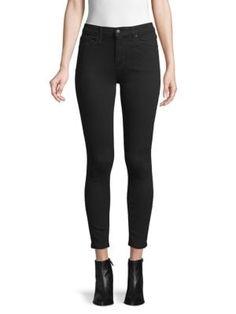 JOE'S JEANS Greeley High-Rise Skinny Ankle Jeans. #joesjeans #cloth 80s Fashion, Modest Fashion, Spring Fashion, Autumn Fashion, Skinny Ankle Jeans, Skinny Fit, Fashion Tips For Women, Fashion Ideas, Fashion Design