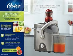 Use this -  Oster FPSTJE3168 000 Big Mouth Juice Extractor