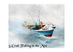 Pack of 5 Fine Art Print Cards: Seascapes by Nibz (Set 1)