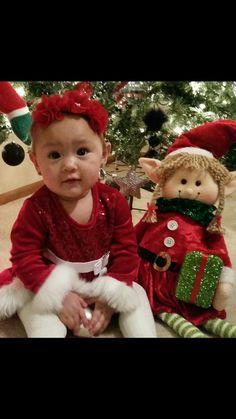 Raylan Santa's lil helper❤