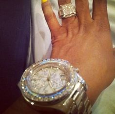 XXL watch and ring