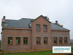 Łupek dachowy, łupek kamienny, łupek naturalny, dach z łupka Cabin, Mansions, House Styles, Home Decor, Decoration Home, Manor Houses, Room Decor, Cabins, Villas