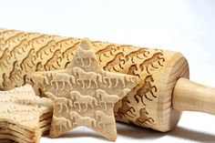 Roll out a little awesome with this horse laser cut rolling pin.