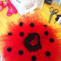 ladybug costume /tutu by TutuDeLee on Etsy, $30.00