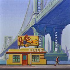 Art Deco Posters, Cool Posters, Nostalgia Art, Norman Rockwell, Futuristic Architecture, Retro Art, Art Deco Design, Vintage Travel Posters, Dieselpunk