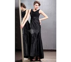 Superior A-Line V-Neck Floor-length Patricia's Bridesmaid Dresses
