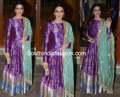 Sonali Bendre in Manish Malhotra