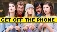 Get Off The Phone, A Song About People Who Are on Their Phones Too Much by Rhett & Link