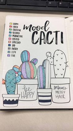 Bullet Journal Mood Tracker by Danie Craig from Bullet Journal Junkies on Facebook