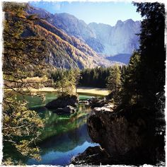 Lago di Fusine River, Country, Outdoor, Outdoors, Rural Area, Country Music, Outdoor Games, Outdoor Living, Rivers