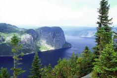 Fjord du Saguenay, Qc, Canada