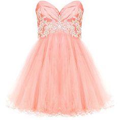 Dresses - Jessica - Coral - Forever Unique