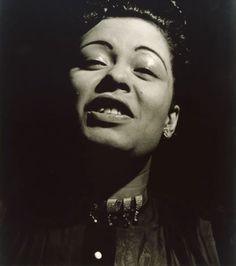 Billie Holiday, New York City, c.1948 // by Sid Grossman