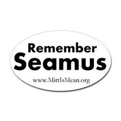 Check out our Remember Seamus stickers!