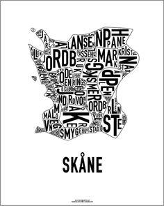 Skåne poster - Malmö modern