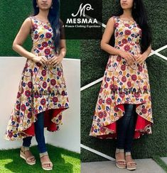 New Dress Pattern Sewing Women Simple Ideas Designs For Dresses, Dress Neck Designs, Blouse Designs, Chudidhar Designs, Chudidhar Neck Designs, Kalamkari Dresses, Ikkat Dresses, Kurta Designs Women, Salwar Designs