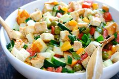 Find 20 great salads here...go to the link.