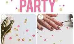 Confetti Nails Tutorial