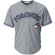 Majestic Men's Toronto Blue Jays Replica Jersey - Gray S Toronto Blue Jays, Mlb, Marcus Stroman, Baseball Jerseys, Team Names, San Francisco 49ers, Sports Fan Shop, Cool, Mens Tops