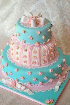 Torta Shabby Chic, al mejor estilo María Antonieta #15Años