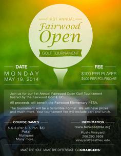 Wonderful Designing A Golf Tournament Flyer   Bing Images