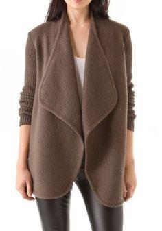 Vince-Boiled-Wool-Drape-Jacket-Size-XS