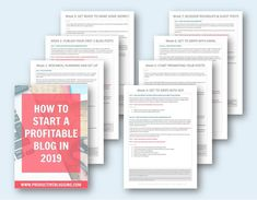 Sign up for my FREE #ProfitableBlog2019 challenge! A 7 week step-by-step plan, taking you through setting up your blog, writing high quality blog posts, maximising your blog's earning potential, learning the basics of SEO, learning how to promote your pos Make More Money, Make Money Blogging, Money Week, First Blog Post, Blog Planner, Earn Money Online, Blogging For Beginners, How To Start A Blog, About Me Blog