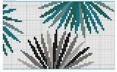 Fin de la grille Frise Rico Design Embroidery Stitches, Embroidery Patterns, Cross Stitch Patterns, Gallery Frames, Fries, Knit Pillow, Rico Design, Paper Cover, Natural Texture
