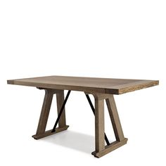 Christian Liaigre, Inc. Dinning Table, Table Desk, Bar Chairs, Table And Chairs, Dining Furniture, Furniture Design, Christian Liaigre, Center Table, Wooden Tables