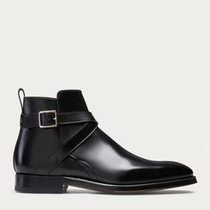 SCLAVI - BLACK CALF Boots